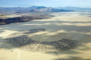 Black Rock City 2009 (Photo by Scott London)