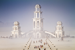 The Temple of Transition by the International Art Megacrew (Photo by Scott London)