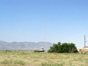Burning man installed a new tower in Gerlach for both year around, and event Internet and radio communications.