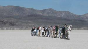 One of the few times that the BLM turned out more volunteers than DPW for an inspection.