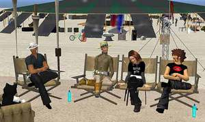 Larry Harvey and Second Life founder Philip Rosedale discuss Burning Life 08,  with Burning Man Board Member Danger Ranger, and Dusty Linden.Burning Life is now an
