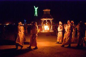 Procession of the Ceremonial Flame, 2007 (Photo by Tristan Savatier)