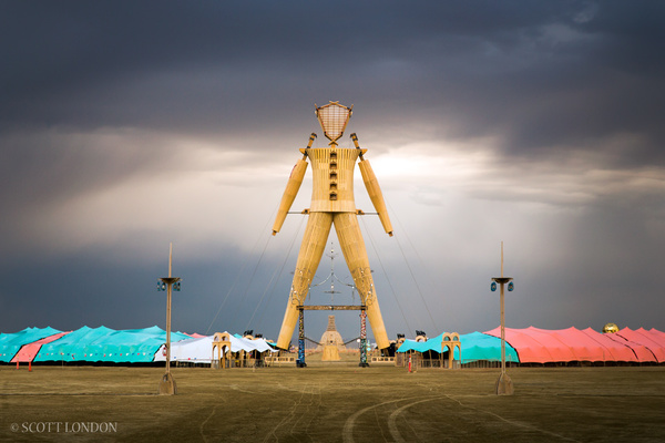 The Man after the rainstorm, 2014 (Photo by Scott London)