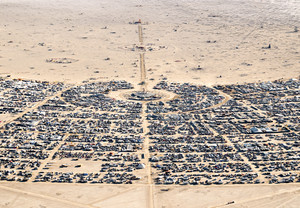 BRC from above Center Camp, 2015 (Photo by Philippe Glade)