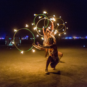 PyroTex Fire Conclave Procession Burning Man 2016